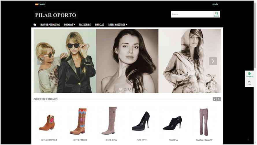web i xarxes socials per crear marca i mostrar el catàleg de productes