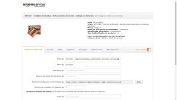 Informació de producte Amazon